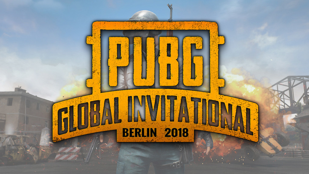 PUBG EU Global Invitational Berlin 2018 Livestream